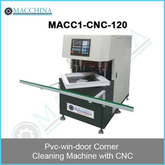 Pvc-win-door Corner Cleaning Machine with CNC