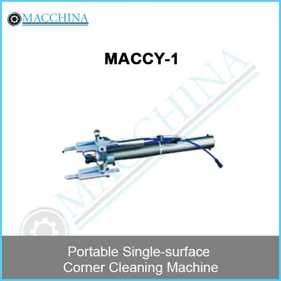 Portable Single-surface Corner Cleaning Machine