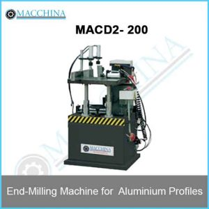 End-Milling Machine for Aluminum Profiles