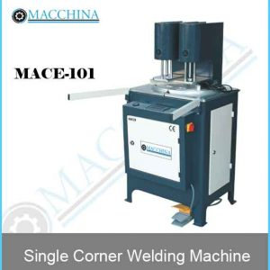 Single Corner Welding Machine