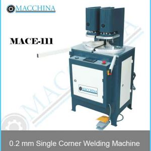 0.2 mm Single Corner Welding Machine
