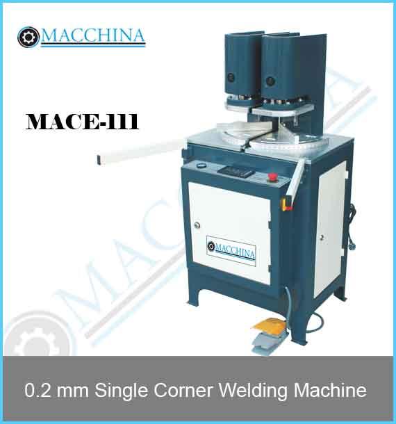 0.2 mm Single Corner Welding Machine