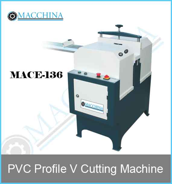 PVC Profile V Cutting Machine