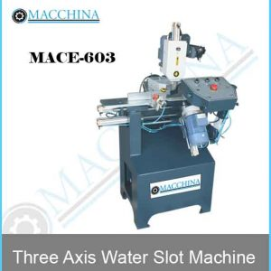 Three Axis Water Slot Machine