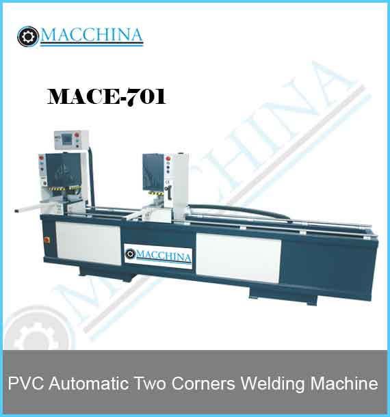 PVC Automatic Two Corners Welding Machine