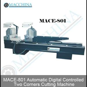 Automatic Digital Controlled Two Corners Cutting Machine
