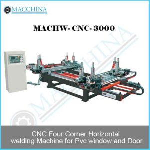 Four Corner Horizontal welding Machine