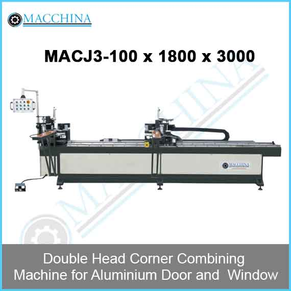 Double Head Corner Combining Machine