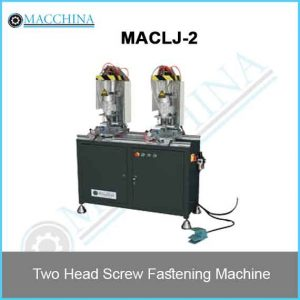Two Head Screw Fastening Machine