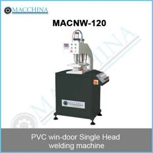 PVC win-door Single Head welding machine