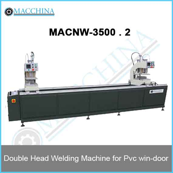 Double Head Welding Machine for Pvc win-door