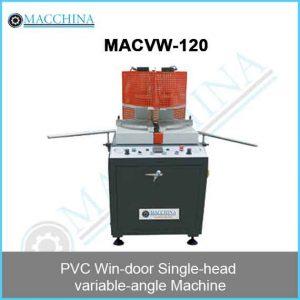 PVC Win-door Single-head variable-angle Machine