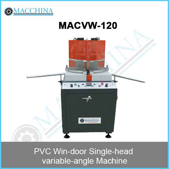 PVC Win-door Single-head variable-angle Machine