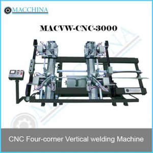 CNC Four-corner Vertical welding Machine
