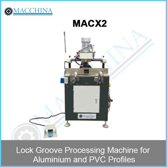 Lock Groove Processing Machine