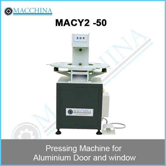 Pressing Machine for Aluminum Door and window