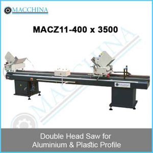 Double Head Saw for Aluminum & Plastic Profile