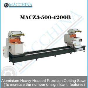 Aluminum Heavy-Headed Precision Cutting Saws