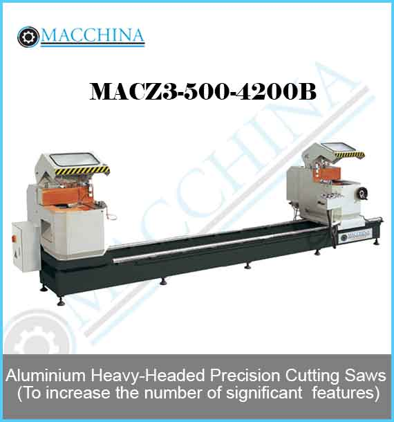 Aluminum Heavy-Headed Precision Cutting Saws