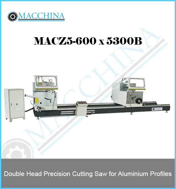 Double Head Precision Cutting Saw