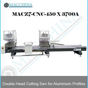 Double-Head Cutting Saw for Aluminum Profiles