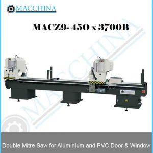 Double Mitre Saw for Aluminum and PVC Door & Window